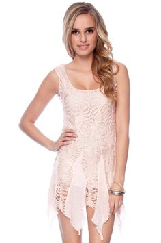 Crocheted Pixie Dress