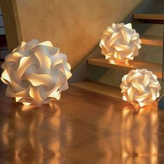 Papier-Design-Kugellampe-gross-ca-47-cm-Kugelleuchte-Designlampe-Papierlampe