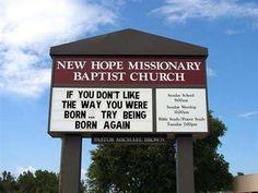 World's Best Church Signs! - Beliefnet.com