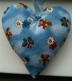 Butterfly Fabric Lavender Bag - Handmade in Crafts, Hand-Crafted Items | eBay