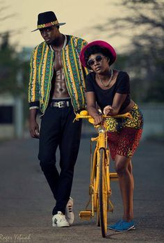 latest Trends styles of African fashion from the fashion houses in the continent, and now with the latest Ankara styles coordinated Pieces for couples. African Inspired Fashion, African Print Fashion, Africa Fashion, Fashion Prints, African Prints, African Fashion For Men, Ankara Fashion, African Fabric, African Women