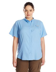 Columbia Women's Tamiami II Short Sleeve Shirt (Plus) -- This is an Amazon Affiliate link. Be sure to check out this awesome product.