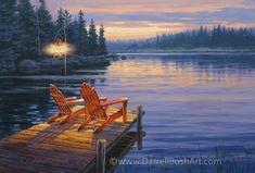 Evening Glow Darrell Bush