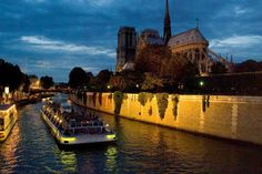 A romantic city cruise down the Seine is a perfect way to explore Paris.