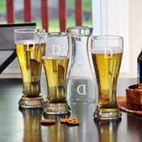 Looking for a unique groomsmen gift? Engraved drinking glasses and a perfect gift that will last for years.