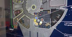 Lee Star Wars IV contada en una enorme infografía de 123 metros de longitud