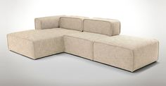 $1,550.00 - Quadra Beach Sand Left Sectional - Sectionals - Article | Modern, Mid-Century and Scandinavian Furniture