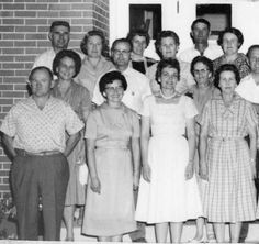 Delta High School reunion 25 years, Class of 1935; :: Delta City Library - Beckwith Photograph Collection