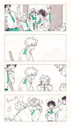 Kirishima being the Deku protector My Hero Academia Shouto, Hero Academia Characters, Anime Characters, Bakugou And Uraraka, Boko No, Villain Deku, Syaoran, Otaku Anime, Anime Ships
