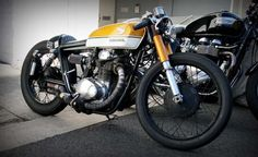 Honda CB350 - found on Cafe Racer Culture