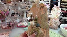 Prima Mixed Media Doll Tags and Divine Cards