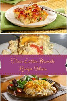 Three Yummy Easter Brunch Recipe Ideas