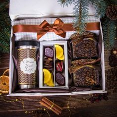 DIY Personalized Gift Basket For Anyone, Girlfriend, Kids, Mom Etc - Christmas Hamper, Christmas Gift Box, Holiday Gifts, Food Gifts, Craft Gifts, Diy Gifts, Coffee Box, Coffee Gifts, Gift Hampers