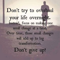 One day at a time....baby steps!! And Keep Moving Forward!   <3 THANK YOU FOR PASSING AROUND MY POSTS!! <3  Grab some friends and lose weight with us  Click here to join---> https://www.facebook.com/groups/happystep/   FEEL FREE TO SHARE! ;) SHARING IS CARING! <3