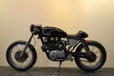 HONDA GB250 Cafe Racer by Shallow Motorcycle #caferacer #motos #motorcycles | caferacerpasion.com
