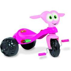 Triciclo Bandeirante Zootico Joaninha, um companheiro na diversão da criançada.