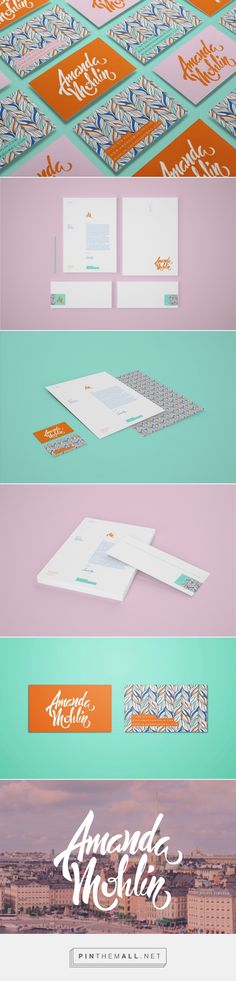 Personal Branding 2014 on Behance - created via https://pinthemall.net