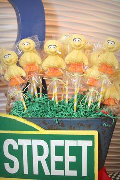 We Heart Parties: Sesame Street Birthday for Aiden First Birthday Parties, First Birthdays, Heart Party, Sesame Street Birthday, Best Candy, Childrens Party, Bridal Shower, Lollipops, Kids