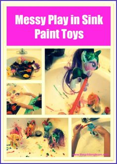 Messy Play - Paint your Toys