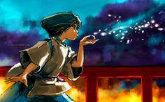The Dragon Boy ~ by `alicexz  Spirited Away - when Chihiro first meets Haku