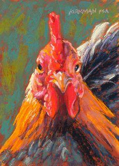 Rita Kirkman's Daily Paintings: Big Red