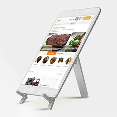 Portable Kitchen Tablet Cookbook Stand for iPads, iPad mi... https://www.amazon.com/dp/B01MTYSACY/ref=cm_sw_r_pi_dp_x_XHi7ybJX48T08