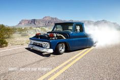 Check Out This Sick Twin Turbo LS Powered 1964 GMC Pickup That Has The Sauce To Backup The Looks