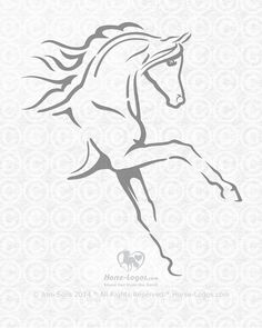 Al Safwah Arabians Logo on Behance - this is the graphic for the logo. Visit site to see the whole logo design. #horselogo #equine #horse #logo