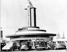 Simon's Drive-In, unknown location in Souther Ca.