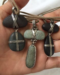 """386 Likes, 24 Comments - All You Need Is Love (@loveadorned) on Instagram: """"#LouZeldis sterling pebble necklaces. Lou would have been 72 today. #hbd #longlivetheking"""""""