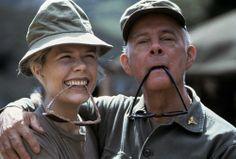 #mash #M*A*S*H - Margaret Houlihan (Hot Lips) and Sherman Potter