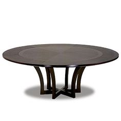 NOT ON FLOOR IN NYC BUT IN SF STILL HIGH ON MY LIST FOR DINING ROOM TABLE, IN SF AT JIUN'S SHOWROOM, Savuti Table