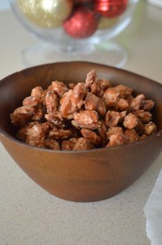 Candied Nuts is flopping delicious