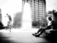black and white candid street photography  by BlackFedoraArtnStuff, $35.00