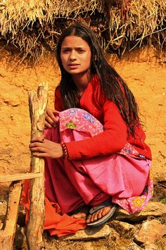 Girl from Northern India