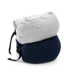 About Get comfy and block out the world on your next trip with the hooded neck pillow. This is perfect for traveling as the hood buttons down keeping it compact when not in use.