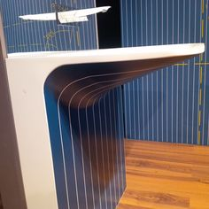 "#Washbasin Milestone ""Gessato"" wears pinstripes. It's our new version of the famous Milestone .#ISH2015"