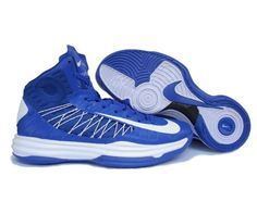 Nike Lunar Hyperdunk X 2012 LeBron James RoyalBlue/White Basketball shoes SJ