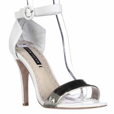 Alice   Olivia Ankle Strap Sandals - Gala Metallic High Heel 38.5 EU *** Learn more by visiting the image link.