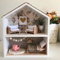 How sweet is this little hack that @juliavalka done on one of the shelves from Kmart. I love it. #kmart #kmartaus #kmartstyling #kmarthack