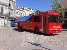 Agenda Cultural RJ: Hoje, dia 30/07  o ''Ônibus-biblioteca vermelho'' ...