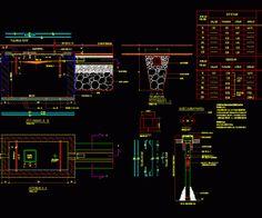 Download Gambar AutoCAD Desain Konstruksi Septic Tank dan Sumur Pantau