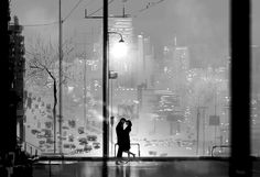 Magic times #pascalcampion #pascalcampionart #sketchoftheday #romance #illustration