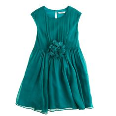 J.Crew - Girls' chiffon Holly dress Were the price tag different....