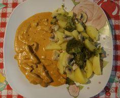 Rezept Geschnetzeltes mit Gemüse von GnocchinaTM5 - Rezept der Kategorie Hauptgerichte mit Fleisch
