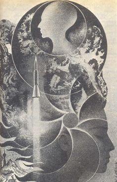 The Vault of Retro Sci-Fi — yugodrom:    IlustracijeNikolaja Lutohinaza...