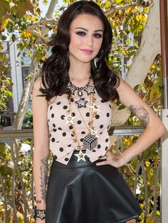 Cher Lloyd in Layered Statement Necklaces Celebrity Gallery, Celebrity Look, Lloyd Singer, Cher Lloyd, Spring Fashion Trends, Swimwear Fashion, Passion For Fashion, Spring Outfits, Statement Necklaces