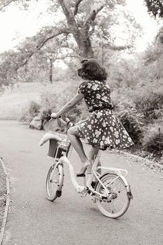 Le mini vélo, très à la mode dans les années 60-70