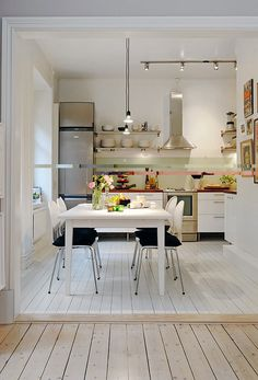 Home Design and Interior Design Gallery of Delightful Natural Apartment Dining Room Design