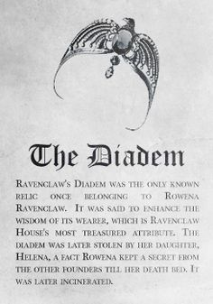 Ravenclaw: The Diadem. Pottermore Sorting: Sorting Hat Analysis and Meta